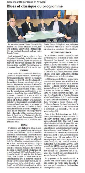 Article du bulletin d'Espalion