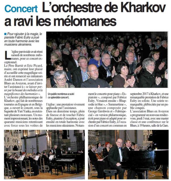 bulletin d'Espalion Kharkiv 17 mars 2018